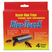48 Units of BLUE TOUCH ROACH TRAP 4 PACK - Pest Control