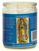 12 Units of RELIGIOUS CANDLE 3.25 INCH OUR LADY OF GUADALUPE - Candles