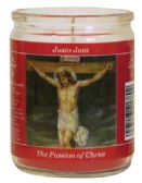 12 Units of RELIGIOUS CANDLE 3.25 INCH PASSION OF CHRIST - Candles
