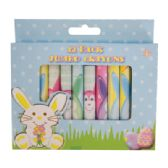 48 Units of JUMBO CRAYONS 12 PK BUNNY DESIGNS - Chalk,Chalkboards,Crayons