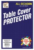 36 Units of VINYL TABLECLOTH PROTECTOR 52 X 70 INCH RECTANGULAR - Table Cloth