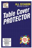 36 Units of VINYL TABLECLOTH PROTECTOR 60 INCH ROUND - Table Cloth