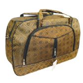 12 Units of TRAVEL BAG 21 X 13 X 7.25 INCH STAR DESIGN