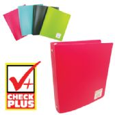 36 Units of BINDER 1 INCH 3 RINGS ASSORTED COLORS - Clipboards and Binders