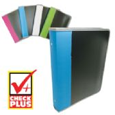 12 Units of ZIPPER BINDER 1.5 INCH 3 RING ASSORTED COLORS - Clipboards and Binders
