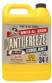 6 Units of ULTRGUARD ANTIFREEZE AND COOLANT 1 GALLON PROTECTS TO -34 DEGREES MADE IN USA - AUTO CLEANING SUPPLIES