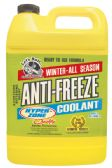 6 Units of HYPERZONE ANTIFREEZE AND COOLANT 1 GALLON PROTECTS TO -O DEGREES MADE IN USA - AUTO CLEANING SUPPLIES
