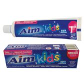 24 Units of AIM KIDS TOOTHPASTE 4.4 OZ GEL MEGA BUBBLE BERRY - Health / Beauty