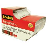 144 Units of 3M SCOTCH TAPE 2 PACK 0.75 x 250 INCH - Tape