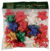 48 Units of GIFT BOWS 28 COUNT MEDIUM PEEL AND STICK