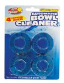 36 Units of AUTOMATIC TOILET BOWL CLEANER 4 PACK 7.05 OZ TOTAL - Dinnerware > Bowls