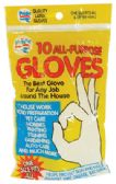 72 Units of LATEX GLOVE 10 PACK ALL PURPOSE - Kitchen Gloves