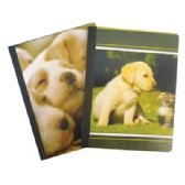 48 Units of COMPOSITION NOTEBOOK 80 SHEET 9.75 X 7.5 INCH WIDE RULE ASSORTED PET COLLECTION