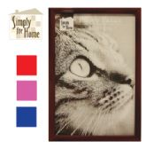 36 Units of PLASTIC PHOTO FRAME 4 X 6 INCH ASSORTED COLORS - Picture Frames