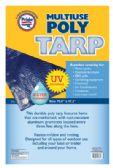 24 Units of POLY TARP 70.8 X 47.2 INCH MULTI-PURPOSE - Tarps