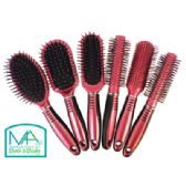 36 Units of HAIR BRUSH 9 INCH ASSORTED STYLES IN DISPLAY - Hair Brushes & Combs