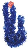 48 Units of TINSEL GARLAND 80 X 4 INCH BLUE - Streamers/Confetti/Whirlers