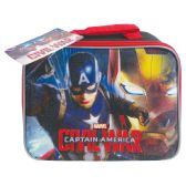 12 Units of LUNCH BAG CAPTAIN AMERICA - Lunch Bags & Accessories