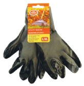 24 Units of UTILITY GLOVES FOR MEN WITH COATED PALM SIZE L/XL - Gardening Gloves