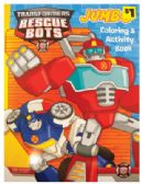 84 Units of TRANSFORMERS JUMBO COLORING AND ACTIVITY BOOK 96 PAGES PREPRICED $1.00