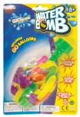 36 Units of WATER BALLONS WITH WATER NOZZLE 80 COUNT