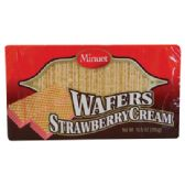 24 Units of MINUET WAFER 10.5 OZ STRAWBERRY CREAM - Food & Beverage