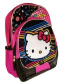 12 Units of HELLO KITTY BACKPACK 16 INCH WITH FRONT AND SIDE POCKETS