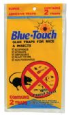 96 Units of BLUE TOUCH GLUE TRAP 2 PACK IN DISPLAY MOUSE - Pest Control