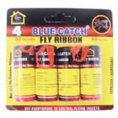 48 Units of FLY RIBBON 4PK BUGANDFLY CATCHER - Hardware Products