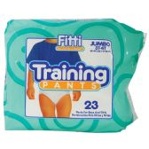 4 Units of FITTI JUMBO TRAINING PANTS SIZE 3T-4T (32-40 LBS) 23 COUNT MADE IN USA - Baby Accessories