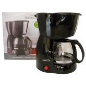 6 Units of BRENTWOOD COFFEE MAKER 4 CUP BLACK CETL LISTED - Home Goods