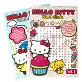 48 Units of HELLO KITTY WORD FIND 96 PAGES ASSORTED VOLUMES MADE IN USA - Coloring & Activity Books