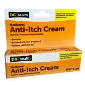 24 Units of ANTI-ITCH CREAM MEDICATED 1 OZ MENTHOL PRAMOXINE HYDROCHLORIDE COMPARE TO ACTIVE INGRIDENTS OF GOLD BOND R.R. ANTI-ITCH CREAM