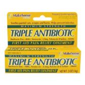 24 Units of TRIPLE ANTIBIOTIC OINTMENT 0.5 OZ MAXIMUM STRENGTH COMPARE TO NEOSPORIN - Personal Care Items