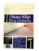 36 Units of NON-SLIP RUG UNDERLAY 20 X 32 INCH - Home Goods