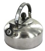 12 Units of WHISTLING TEA KETTLE 1.2 LITER STAINLESS STEEL - Home Goods
