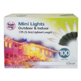 24 Units of CHRISTMAS LIGHT 100 COUNT 17 FEET CLEAR UL APPROVED - Christmas Decorationes