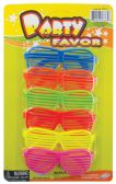 36 Units of FUN SHADES PARTY FAVOR 6 COUNT ASSORTED - Party Favors