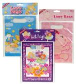 48 Units of BABY LOOT BAGS 10 PC ASSORTED DESIGNS - Party Supplies