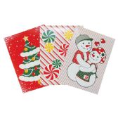 48 Units of CHRISTMAS GIFT BOX 3 PK 14.25 X 9.5 X 2 IN MEDIUM ASSORTED DESIGNS - Christmas Gift Bags and Boxes
