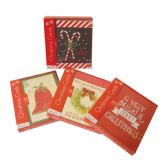36 Units of CHRISTMAS BOX CARDS 4X6 IN 14 COUNT IN DISPLAY ASSORTED - Christmas Cards