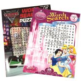 72 Units of DISNEY'S PUZZLE BOOK 96PG PRINCESS AND CARS ASSORTED - Crosswords, Dictionaries, Puzzle books