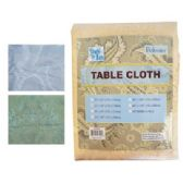 24 Units of FABRIC TABLE CLOTH 52 X 70 IN HIGH QUALITY BEIGE - Table Cloth