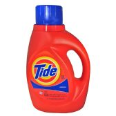 6 Units of TIDE LIQUID 2X ORIGINAL 50 OZ - Cleaning Products