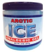 12 Units of ARCTIC ICE ANALGESIC GEL 8 OZ MADE IN USA - Personal Care Items
