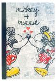 12 Units of DISNEY MICKEY AND MINNIE NOTEBOOK 110 SHEETS 8 X 5 IN