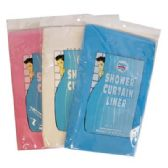 48 Units of SHOWER CURTAIN LINER 70 X 72 IN - Shower Curtain