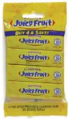 40 Units of WRIGLEY'S GUM 4 PACK JUICY FRUIT - Food & Beverage