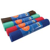 48 Units of NON-SLIP SHELF LINER 12 INCH X 5FT NON-ADHESIVE ASSORTED - Kitchen > Accessories