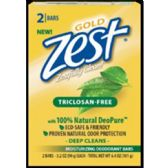 24 Units of ZEST BAR SOAP-GOLD 2 BAR 3.2 OZ 100% NATURAL DEOPURE ECO SAFE AND FRIENDLY - Soap & Body Wash